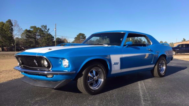 1969 ford mustang hope mills nc blue 1969 ford mustang classic car in hope mills nc. Black Bedroom Furniture Sets. Home Design Ideas