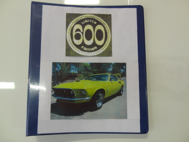 1969 Ford Mustang LE 600 San Diego, California 54