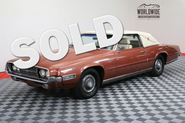 1969 Ford THUNDERBIRD ONE OWNER 17,230 ORIGINAL MILES T-BIRD | Denver, Colorado | Worldwide Vintage Autos