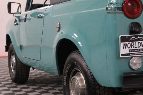 1969 International SCOUT RESTORED DUAL TANK BLUETOOTH  | Denver, Colorado | Worldwide Vintage Autos in Denver, Colorado