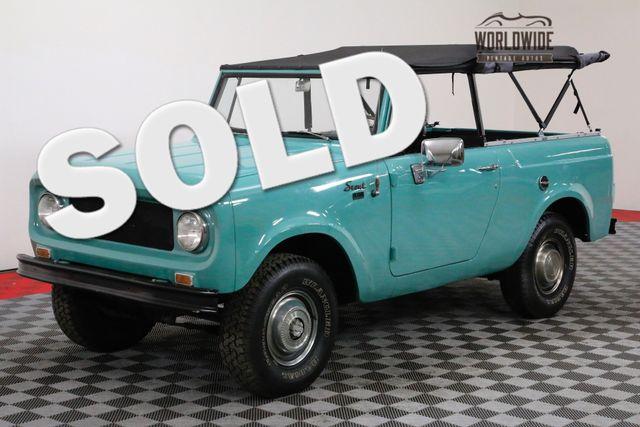 1969 International SCOUT RESTORED DUAL TANK BLUETOOTH  | Denver, Colorado | Worldwide Vintage Autos