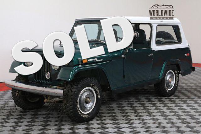 1969 Jeep COMMANDO 4X4 AUTOMATIC V6 A/C CONVERTIBLE TOP   Denver, Colorado   Worldwide Vintage Autos