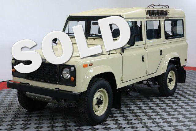 1984 Land Rover DEFENDER 110 COMPLETELY RESTORED 3.5 LTR V8 DEFENDER   Denver, CO   WORLDWIDE VINTAGE AUTOS