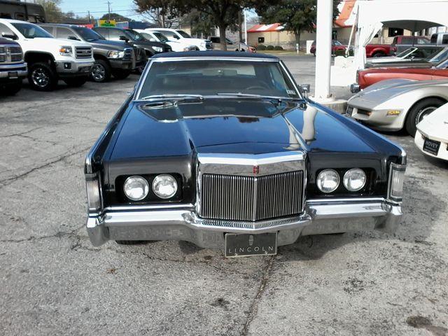 1969 Lincoln Continental Mark 111 San Antonio, Texas 3