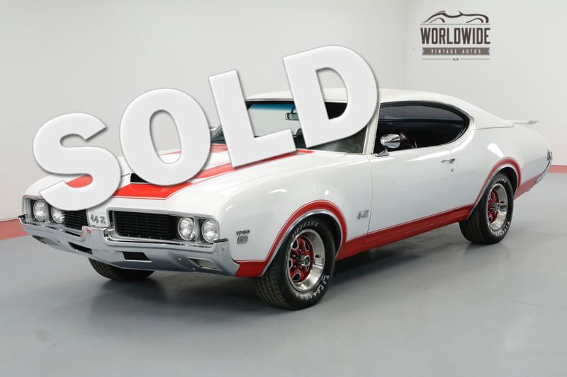1969 Oldsmobile CUTLASS RESTORED 442 W-30 CLONE HURST. REBUILT 455   Denver, CO   Worldwide Vintage Autos