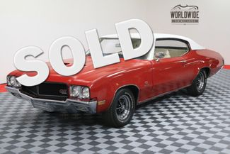 1970 Buick GS 455 STAGE 1. POSI. RESTORED. DOCUMENTED. RARE | Denver, CO | WORLDWIDE VINTAGE AUTOS in Denver CO