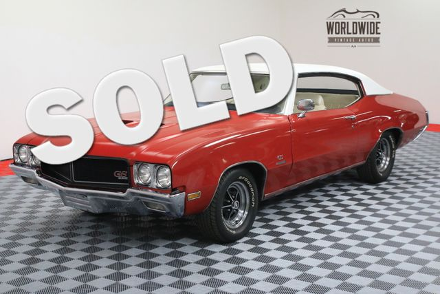 1970 Buick GS 455 STAGE 1. POSI. RESTORED. DOCUMENTED. RARE | Denver, Colorado | Worldwide Vintage Autos