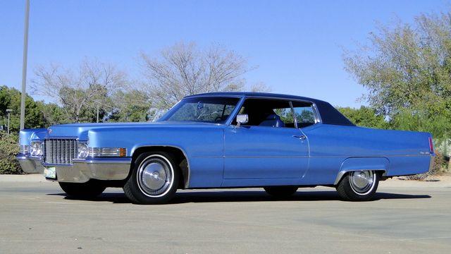 1970 Cadillac COUPE DeVILLE UNRESTORED 64,000 ORIG MILE CALIF CAR Phoenix, Arizona 4