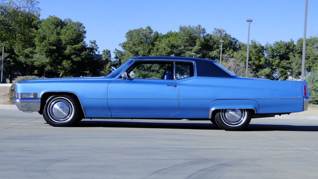 1970 Cadillac COUPE DeVILLE UNRESTORED 64,000 ORIG MILE CALIF CAR Phoenix, Arizona 6