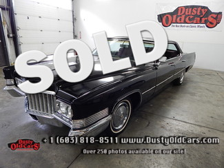 1970 Cadillac Deville Runs Drives Nice Body Interior VGood 472V8 No Post Derry, NH