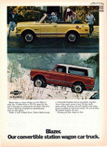 1970 Chevrolet BLAZER CONVERTIBLE. NEW PAINT! 4X4 383 V8 AUTO.   Denver, Colorado   Worldwide Vintage Autos in Denver, Colorado
