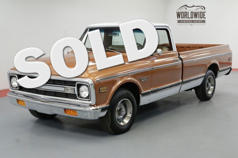1970 Chevrolet C10 400CI V8 4-SPEED NEW PAINT A/C CST PACKAGE | Denver, CO | Worldwide Vintage Autos