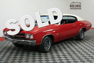 1970 Chevrolet CHEVELLE RARE SS 396/350P V8 FACTORY AC RESTORED | Denver, CO | WORLDWIDE VINTAGE AUTOS in Denver CO