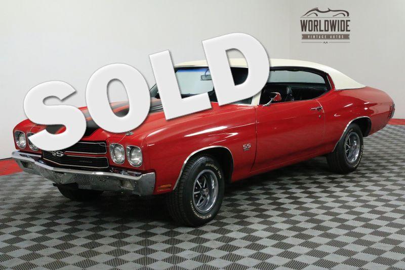 1970 Chevrolet CHEVELLE RARE SS 396/350P V8 FACTORY AC RESTORED | Denver, CO | Worldwide Vintage Autos