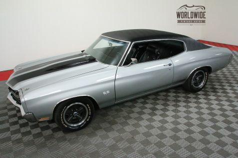 1970 Chevrolet CHEVELLE SS RESTORED! NUMBERS MATCHING 396 BIG BLOCK! 4-SPD. | Denver, CO | WORLDWIDE VINTAGE AUTOS in Denver, CO