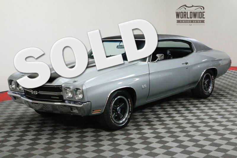 1970 Chevrolet CHEVELLE SS RESTORED! NUMBERS MATCHING 396 BIG BLOCK! 4-SPD. | Denver, CO | WORLDWIDE VINTAGE AUTOS