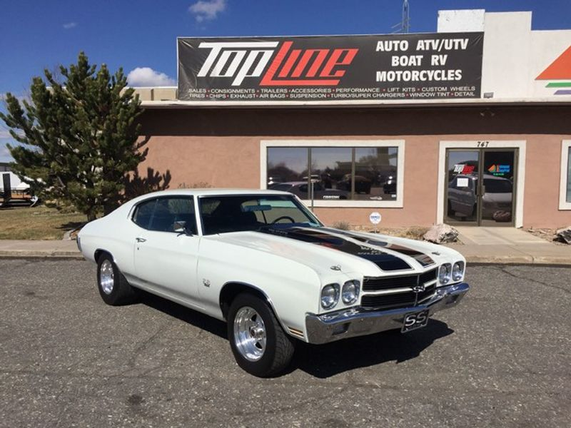 1970 Chevrolet Chevelle SS | West Bountiful, Ut | Top Line Auto ...