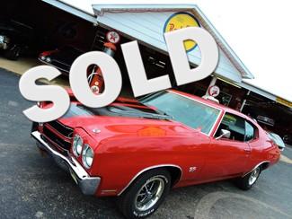 1970 Chevrolet  CHEVELLE SS SS396  RED RedLineMuscleCars.com, Oklahoma