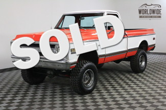 1970 Chevrolet K10 RESTORED. RARE SHORT BOX 4X4. MUST SEE! in Denver Colorado