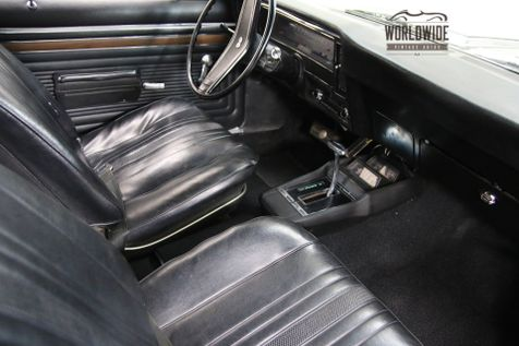 1970 Chevrolet NOVA SS 12 BOLT AUTO CONSOLE PS PB  | Denver, Colorado | Worldwide Vintage Autos in Denver, Colorado