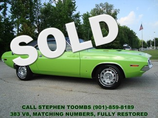 1970 Dodge CHALLENGER 383 V8 MAGNUM, MATCHING NUMBERS, FULLY RESTORED in Memphis Tennessee