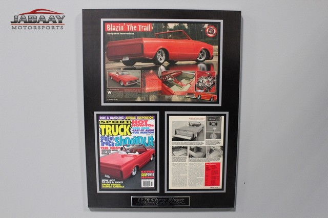 1970 GMC Jimmy/Blazer Lowbelly Merrillville, Indiana 53