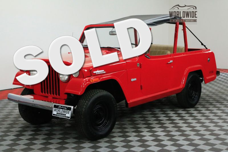 1970 Jeep COMMANDO RESTORED! 225CID V6 BIMINI TOP 4X4. MUST SEE | Denver, CO | Worldwide Vintage Autos
