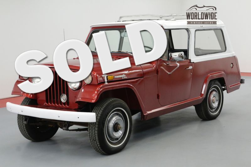 1970 Jeep COMMANDO RESTORED REMOVABLE TOP ORIGINAL EQUIPMENT | Denver, CO | Worldwide Vintage Autos