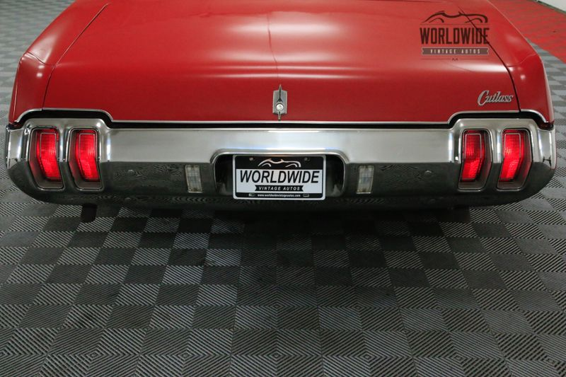 1970 Oldsmobile CUTLASS SUPREME POWER CONVERTIBLE V8 AUTOMATIC | Denver, CO | Worldwide Vintage Autos #70