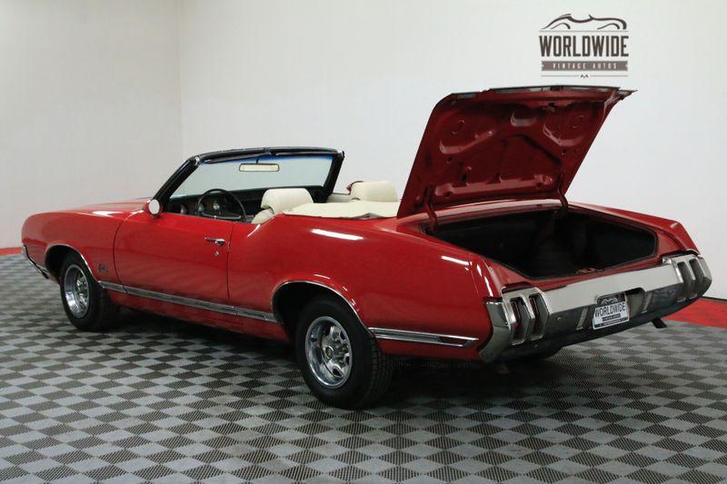 1970 Oldsmobile CUTLASS SUPREME POWER CONVERTIBLE V8 AUTOMATIC | Denver, CO | Worldwide Vintage Autos #57