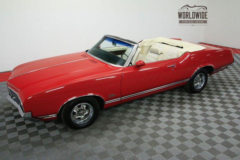 1970 Oldsmobile CUTLASS SUPREME POWER CONVERTIBLE V8 AUTOMATIC | Denver, CO | Worldwide Vintage Autos #16