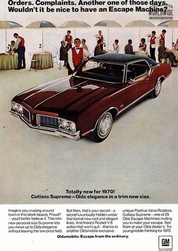 1970 Oldsmobile CUTLASS SUPREME POWER CONVERTIBLE V8 AUTOMATIC | Denver, CO | Worldwide Vintage Autos #73