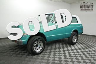 1971 Chevrolet BLAZER CST. RESTORED VINTAGE 4X4. AC! RARE!  in Denver Colorado