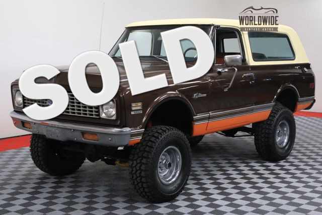 1971 Chevrolet BLAZER K5 RESTORED 4X4 AUTO PS PB | Denver, Colorado | Worldwide Vintage Autos