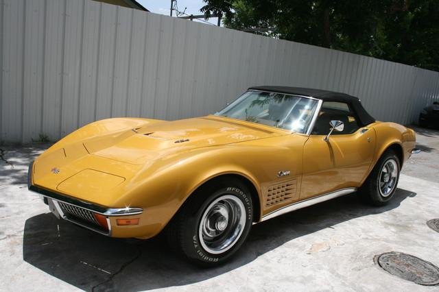 1971 Chevrolet Corvette  454 convertible Houston, Texas 1