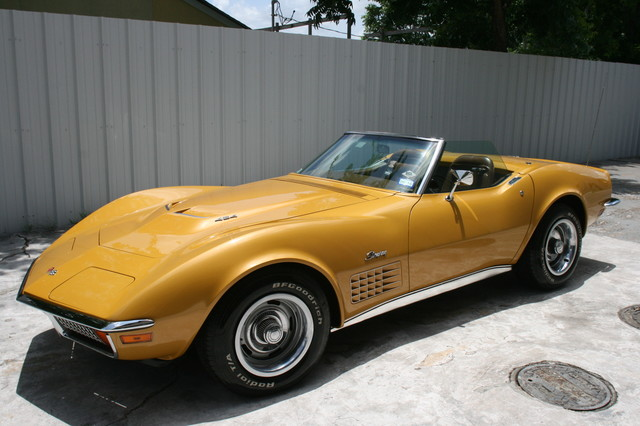 1971 Chevrolet Corvette  454 convertible Houston, Texas 21