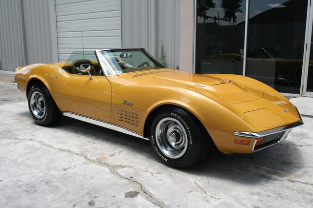 1971 Chevrolet Corvette  454 convertible Houston, Texas 26
