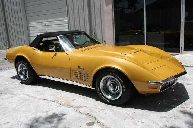 1971 Chevrolet Corvette  454 convertible Houston, Texas 3