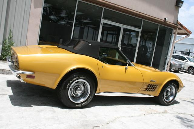 1971 Chevrolet Corvette  454 convertible Houston, Texas 4