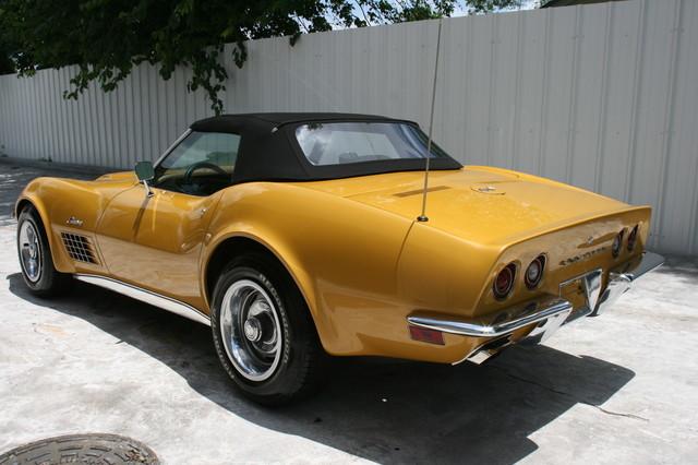 1971 Chevrolet Corvette  454 convertible Houston, Texas 7