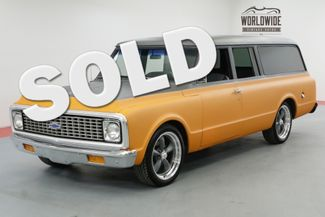 1971 Chevrolet SUBURBAN RARE 350V8 AUTO PB FRONT DISC CUSTOM WHEELS | Denver, CO | Worldwide Vintage Autos in Denver CO