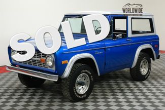1971 Ford BRONCO RESTORED 302 V8 4X4 CONVERTIBLE | Denver, CO | WORLDWIDE VINTAGE AUTOS in Denver CO