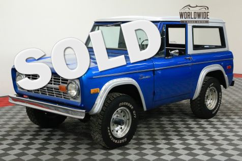 1971 Ford BRONCO RESTORED 302 V8 4X4 CONVERTIBLE | Denver, CO | WORLDWIDE VINTAGE AUTOS in Denver, CO