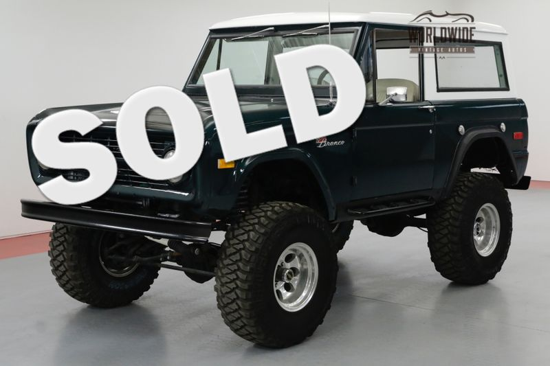 1971 Ford BRONCO 302V8 4BBL CARB 3-SPEED MANUAL 4X4  SOLD PRE VIP | Denver, CO | Worldwide Vintage Autos