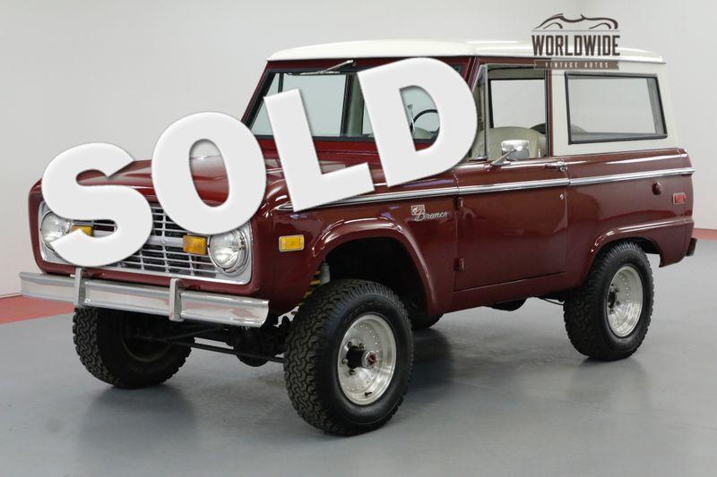 1971 Ford BRONCO RESTORED. UNCUT BRONCO SPORT. 302V8. 4X4 | Denver, CO | Worldwide Vintage Autos