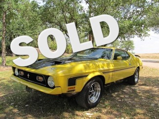 1971 Ford Mustang Mach 1  429 W Ram AIr Beaumont, TX