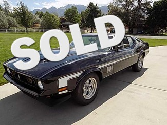1971 Ford Mustang Mach 1 - Utah Showroom Newberg, Oregon