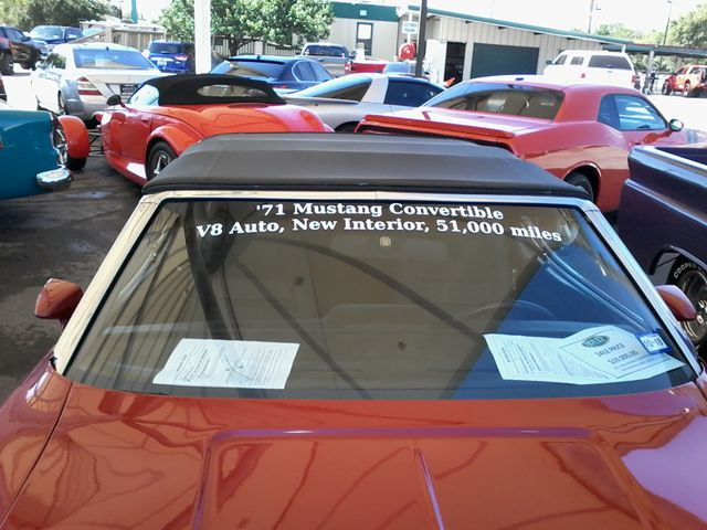 1971 Ford Mustang Convertible San Antonio, Texas 6