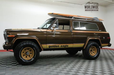 1979 Jeep CHEROKEE GOLDEN EAGLE LS MOTOR FRAME OFF RESTO | Denver, CO | Worldwide Vintage Autos in Denver, CO