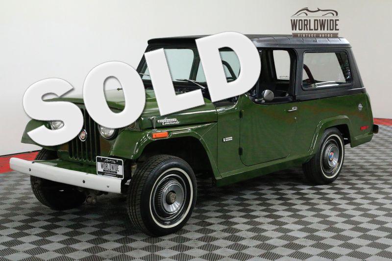 1971 Jeep JEEPSTER COMMANDO 4X4 HARDTOP AUTO RARE | Denver, CO | Worldwide Vintage Autos